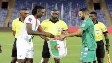 شاهد فيديو اهداف مباراة الجزائر وبوركينا فاسو في تصفيات كأس العالم 2022 «الخيول تُعرقل المحاربين»