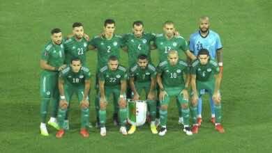 جدول ترتيب مجموعة الجزائر في تصفيات كأس العالم 2022 «السماح بشراكة بوركينا فاسو»