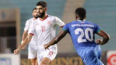 شاهد فيديو اهداف مباراة تونس وغينيا الاستوائية في تصفيات كأس العالم 2022