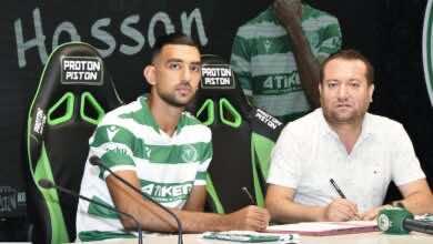 أولمبياكوس يُعير أحمد حسن كوكا إلى الدوري التركي
