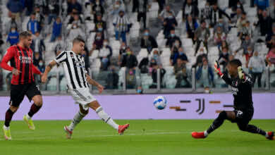 شاهد فيديو اهداف مباراة يوفنتوس وميلان في الدوري الايطالي