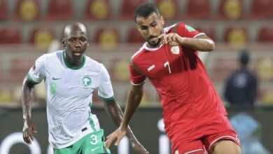 نتيجة مباراة السعودية وعمان في تصفيات كأس العالم 2022 «المولد يسحر والشهري يُسجل»