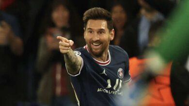 الآن | ميسي يسجل أول هدف له مع باريس سان جيرمان في دوري ابطال اوروبا امام السيتي