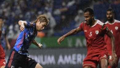 شاهد فيديو اهداف مباراة عمان واليابان في تصفيات كأس العالم 2022 «الصبحي يُعطل الكومبيوتر»