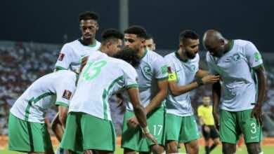 جدول ترتيب مجموعة السعودية وعمان في تصفيات كأس العالم 2022 بعد الجولة الثانية