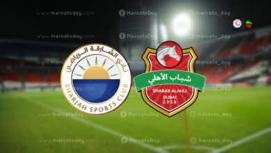 البث المباشر | مشاهدة مباراة اليوم بين شباب الاهلي دبي والشارقة في الدوري الاماراتي ادنوك كورة اون لاين