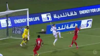 شاهد فيديو اهداف مباراة شباب الاهلي والشارقة في الدوري الاماراتي ادنوك