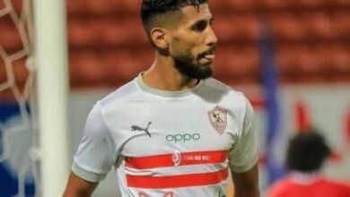 محمد أوناجم يعود إلى تدريبات الزمالك بعد انتهاء إعارته مع الوداد