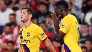 ابرزهم فاتي.. برشلونة مهدد بخسارة 4 لاعبين بارزين بشكل مجاني في الميركاتو الصيفي 2022