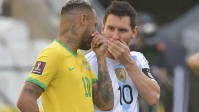 جدول ترتيب مجموعة امريكا الجنوبية في تصفيات كأس العالم 2022..البرازيل والارجنتين يقتربان!