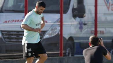 اخبار برشلونة : أجويرو يشارك في مباراة تدريبية بعد تعافيه