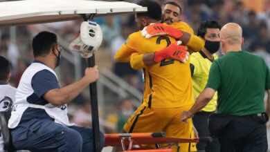 اهلي جدة يخسر محمد العويس لثمانية أسابيع بعد إصابته مع السعودية في تصفيات كأس العالم 2022