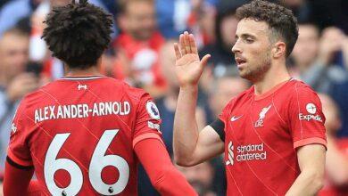 أرنولد وجوتا يدعمان تشكيلة ليفربول أمام واتفورد