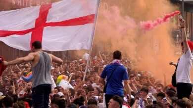 الاتحاد الاوروبي لكرة القدم يعاقب الاتحاد الانجليزي بسبب نهائي يورو 2020