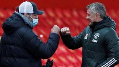 تشكيلة مان يونايتد المتوقعة في مباراة اليوم امام ليفربول في الدوري الإنجليزي
