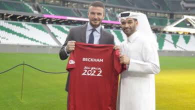 ديفيد بيكهام الوجه الإعلامي لنهائيات كأس العالم 2022 في قطر مقابل 150 مليون جنيه استرليني