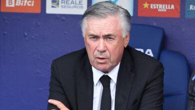 أنشيلوتي: مباراة اسبانيول هي الأسوأ لريال مدريد هذا الموسم