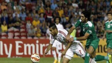 تاريخ مواجهات الامارات والعراق قبل مباراة تصفيات كأس العالم 2022