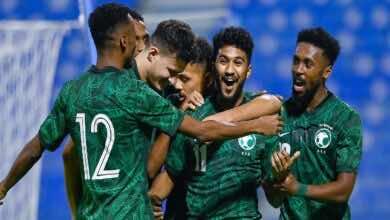 نتيجة مباراة السعودية والعراق في نصف نهائي بطولة غرب اسيا تحت 23 عاماً
