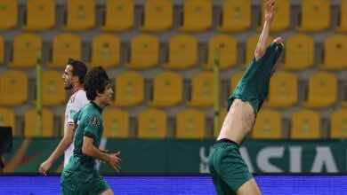 شاهد اهداف وملخص مباراة الامارات والعراق في تصفيات كأس العالم 2022