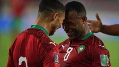 شاهد اهداف وملخص مباراة المغرب وغينيا في تصفيات كأس العالم 2022