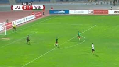 نتيجة مباراة الوحدات والجزيرة في الدوري الاردني..المارد الأخضر يُواصل نزيف النقاط