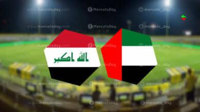 موعد مباراة الامارات والعراق في تصفيات كأس العالم 2022 والقنوات الناقلة