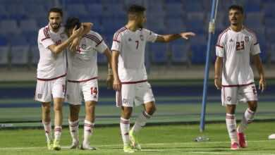 شاهد فيديو اهداف مباراة الامارات ولبنان في بطولة غرب اسيا تحت 23 سنة