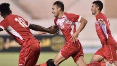 شاهد فيديو اهداف مباراة الاردن وسوريا في نصف نهائي بطولة غرب آسيا تحت 23 عامًا