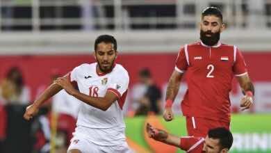 موعد مباراة الاردن وسوريا في نصف نهائي بطولة غرب اسيا تحت 23 عامًا والقنوات الناقلة