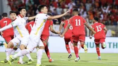 شاهد فيديو اهداف وملخص مباراة عمان وفيتنام في تصفيات كأس العالم 2022..الخناجر يطعنون بقوة