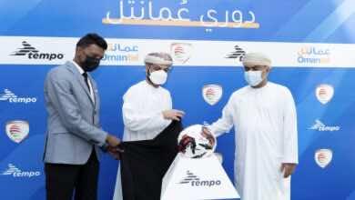 بالصور   الكشف عن كرة الدوري العماني عُمانتل الموحدة لموسم 2022/2021