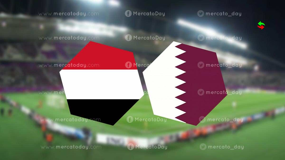 موعد مباراة قطر واليمن في تصفيات كأس اسيا تحت 23 عاما والقنوات الناقلة - ميركاتو داي