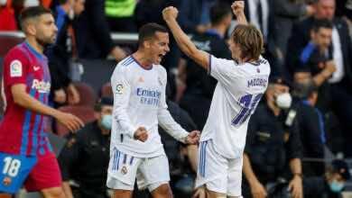 ريال مدريد يقترب من تحطيم رقمه القياسي في الكلاسيكو «7 انتصارات متتالية»
