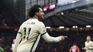 كم مرة سجل محمد صلاح 3 أهداف «هاتريك» مع ليفربول؟