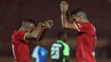 اهداف مباراة اليوم بين الاهلي والحرس الوطني في إياب دور 32 بدوري ابطال افريقيا