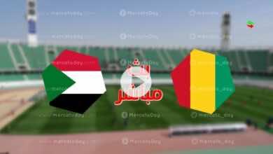 البث المباشر .. مشاهدة مباراة اليوم السودان وغينيا في تصفيات كأس العالم 2022 رابط يلا شوت