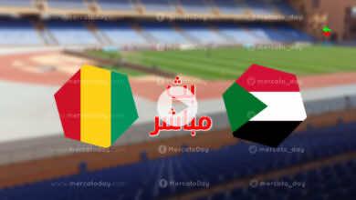 مشاهدة مباراة اليوم بين السودان وغينيا كوناكري في بث مباشر بتصفيات كأس العالم 2022