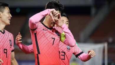 شاهد فيديو اهداف مباراة سوريا وكوريا الجنوبية في تصفيات كأس العالم 2022 «سون يُنقذ النمور بالضربة القاضية»
